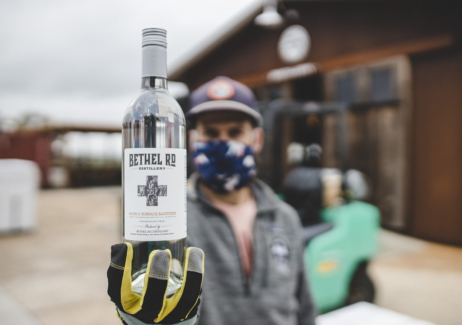 Bethel Rd. Distillery Joins the Ranks of Local Distillers with Hand Sanitizer