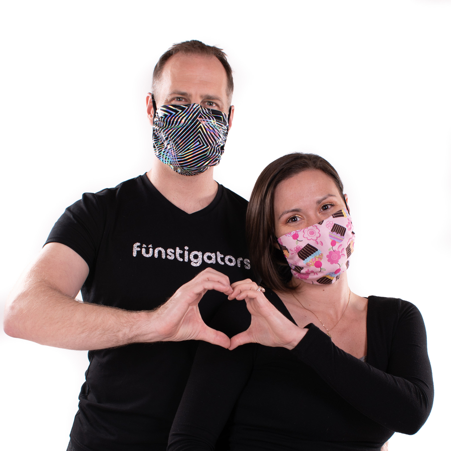 Amid Coronavirus Pandemic, Local Party Clothing Brand Funstigators Makes Masks to Help Save Lives
