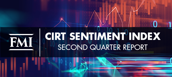 FMI Releases CIRT Sentiment Index, Second Quarter 2020 Report