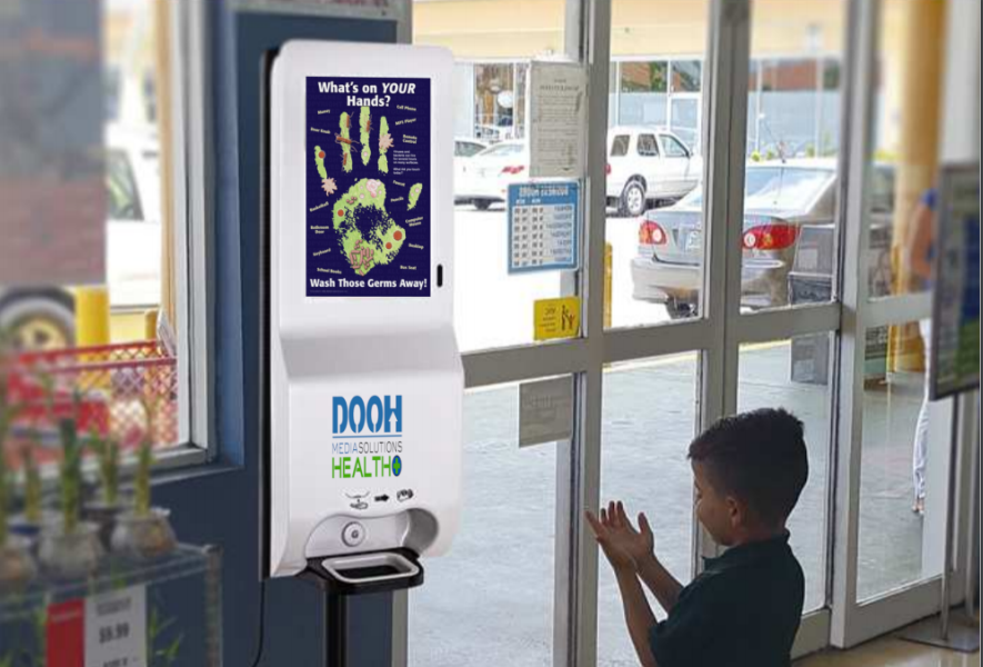 DOOH Media Solutions Releases New Hand Sanitizer Digital Display To Help Combat Coronavirus (COVID-19)