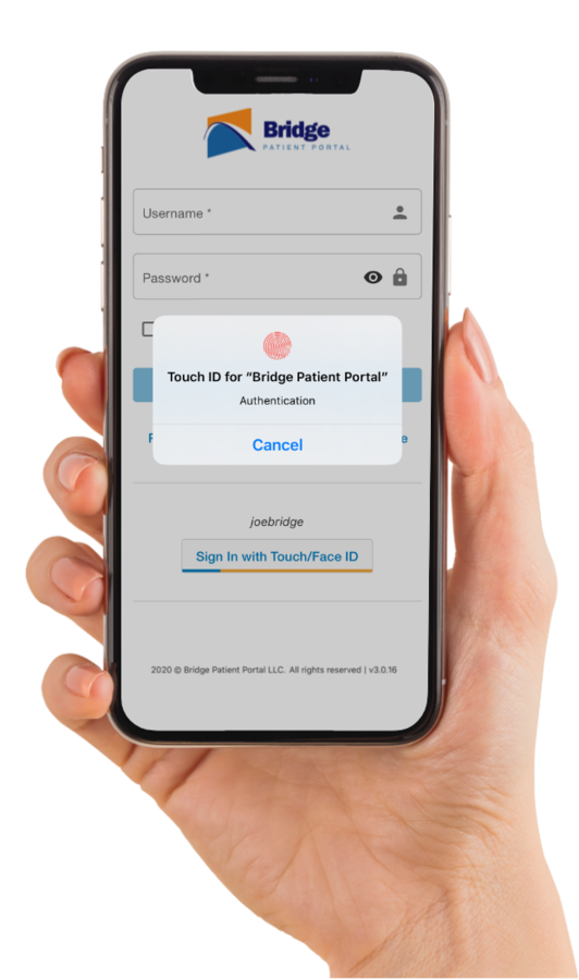 Bridge Makes Patient Portal Login Faster and More Secure With Fingerprint and Facial Recognition