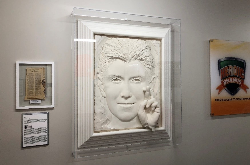 As World Struggles with New Pandemic, College HUNKS ® Honors Ryan White's AIDS Legacy on the 30-Year Anniversary of His Death with 'Hope' Sculpture by Bill Mack