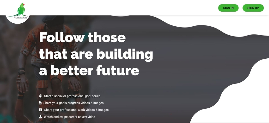 Social Media for Goal Setting, Documenting Activities Progress and Video Resume. A Post Pandemic Branding Platform kickstarter Campaign