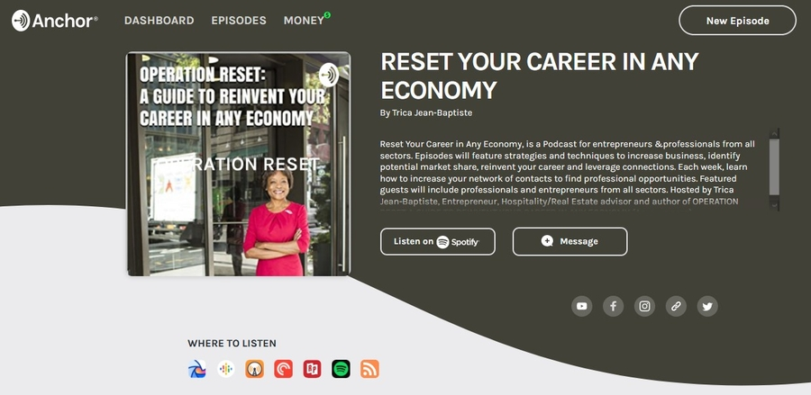 Podcast Offers Job Seekers and Small Business Owners Tools to Endure the Economic Crisis Brought on by the COVID-19 Pandemic