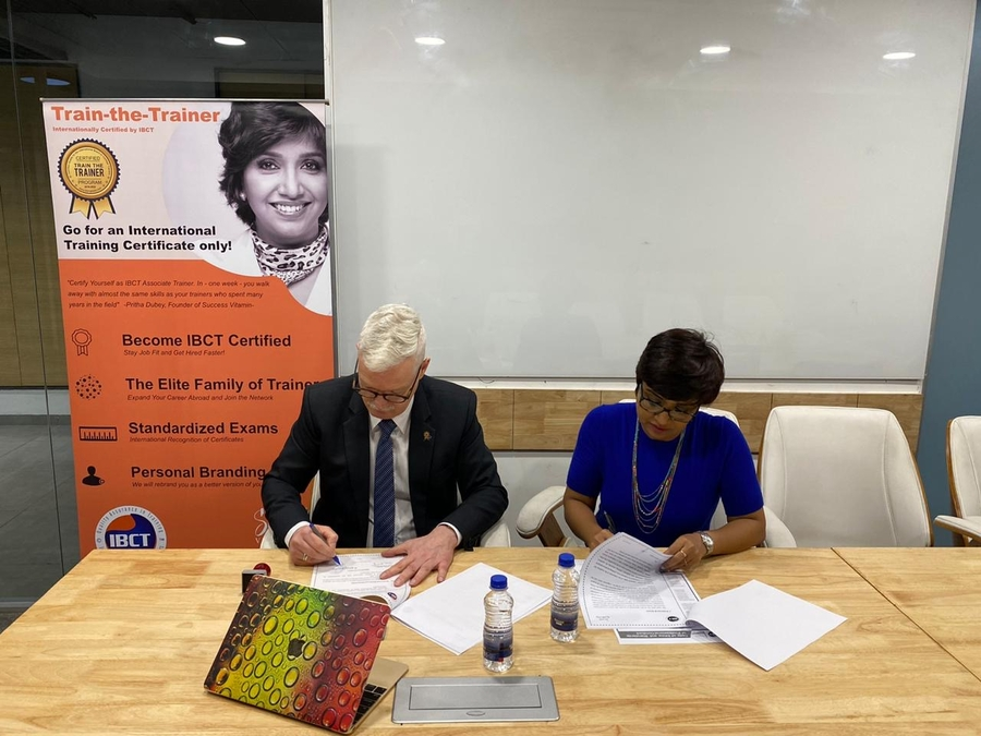 IBCT and Success Vitamin sign a Cooperation Agreement for the Indian Subcontinent