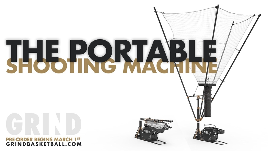 Former Athlete Turned Entrepreneur Launches World's First Portable Basketball Shooting Machine