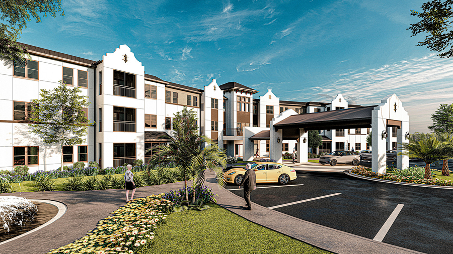The Douglas Company Announces that Construction has begun on The Grove at Trelago Assisted Living and Memory Care Senior Housing Community
