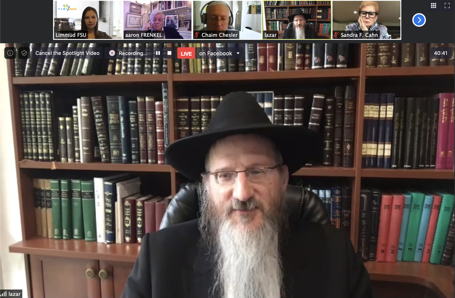 Russian Chief Rabbi will Speak to Russian Government and Ask them to Turn to Iranian Authorities with Request to Repair Fire Damage to Tomb of Esther and Mordechai