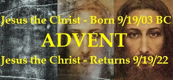 Jesus Was Born On September 19, 03 BC: God Reveals Jesus' Birthday To John The Apostle
