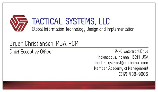 Tactical Systems, LLC and Dash Technologies, Inc. Form Strategic IT Collaboration