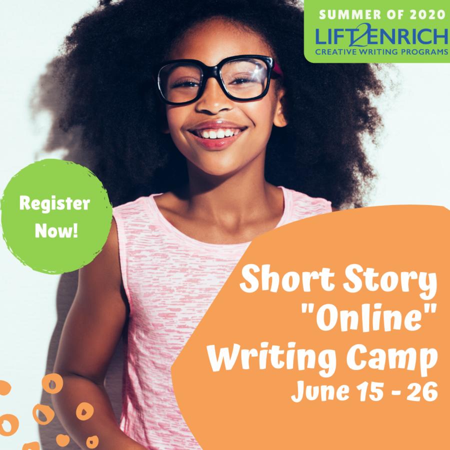 LIFT2Enrich Creative Writing Program Announces Free Online Short Story Writing Camp
