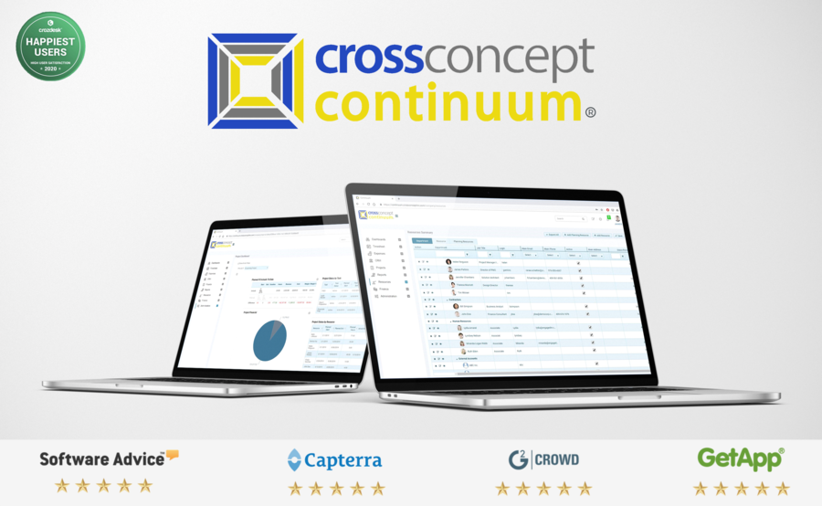 CrossConcept Celebrates Significant Milestone's, Awards & Growth in Professional Services Automation (PSA)