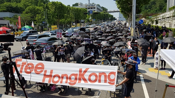 As South Korean Officials Fail to Allay Fears Over The Issues of Vote-rigging, Concerned Citizens and Activists Take to The Streets to Demand Answers