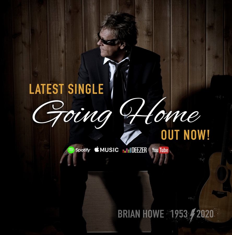 "Brian Howe's Single, ""Going Home"" Releases Just Months After His Untimely Passing"