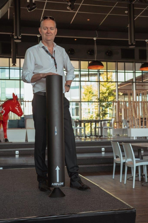 COVID-19: Belgian Event Venue Equipped With UVC Mid-Air Disinfection Technology