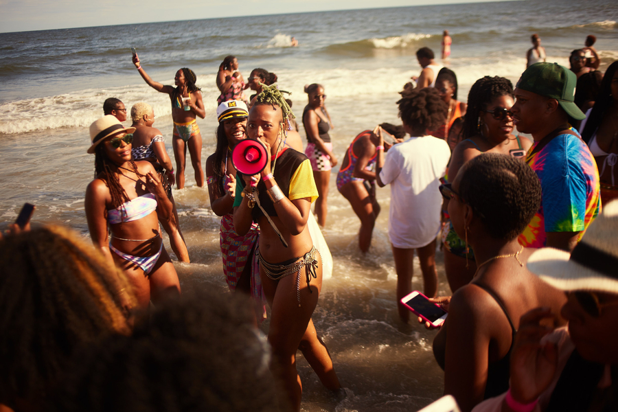 Intent On Reclaiming Valuable Space, The Creatives Behind Black Girl Beach Day™ Declare That It Is Officially a Black Girl Summer
