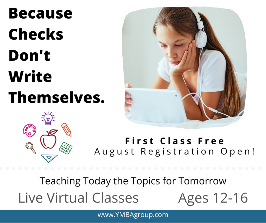Y.M.B.A. Expands To 85 Live Discussion-Based Virtual Classes With An Innovative and Fun Teaching Style For Ages 12 to 16