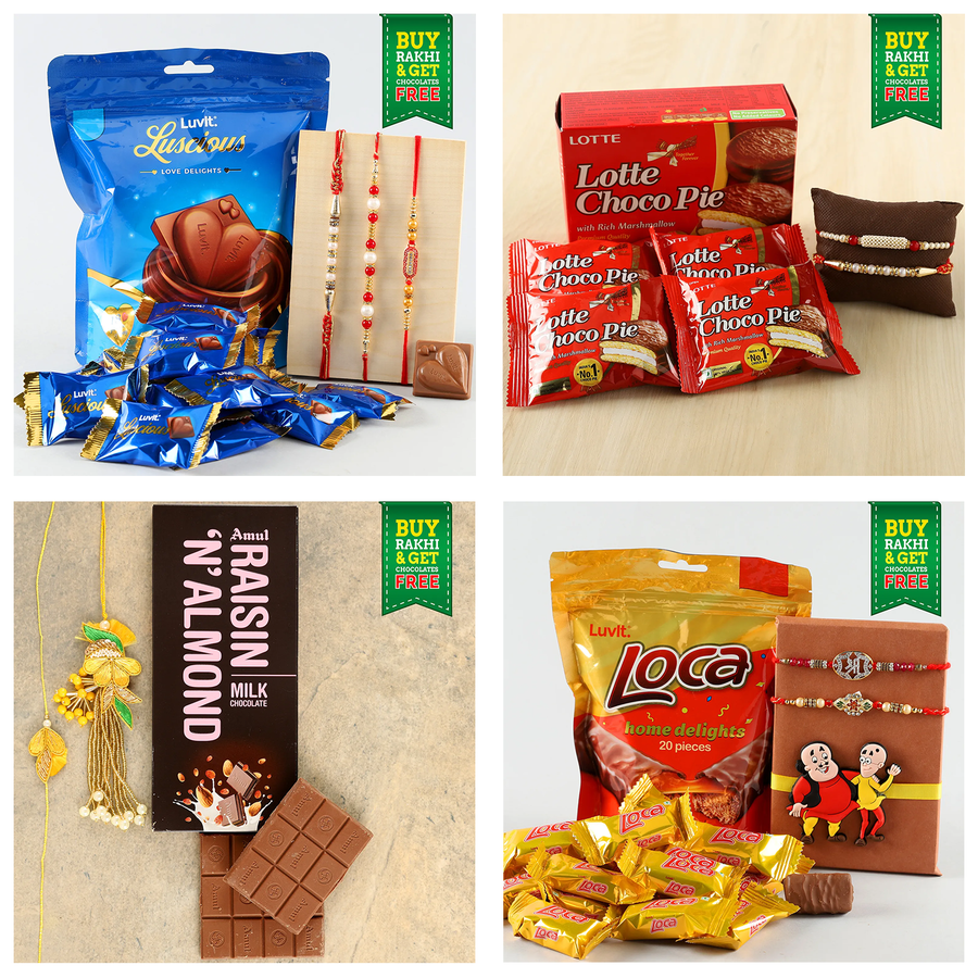 Ferns N Petals Tie-up with Amul– Get Free Chocolates this Raksha Bandhan