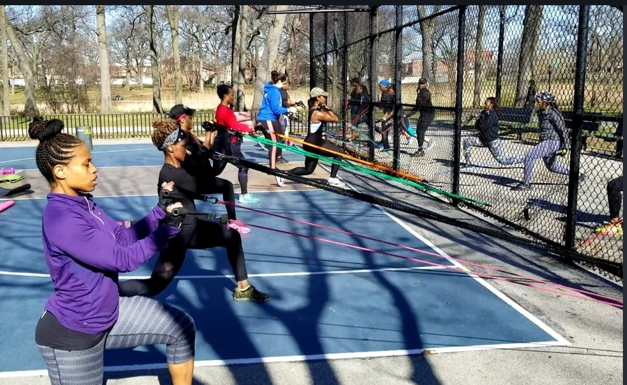 NYC Fitness Professional Tre Fit Uses the Power of Tube Resistance Bands to Start a Small Group Training Class That Uses Tube Resistance Bands With Functional and Traditional Exercise Movements