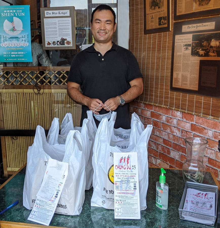 Restaurant Owner Gives Back to Community with Donated Meals to Wayne Township First Aid Squad