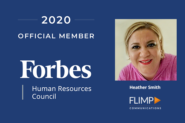 Flimp Communications' Heather Smith accepted into Forbes Human Resources Council