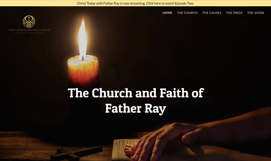 Christ Today with Father Ray Resumes Programming In a (Not Yet) Post-COVID World
