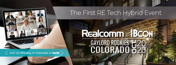 Realcomm | IBcon Announces Industry's First Hybrid RE Tech Event