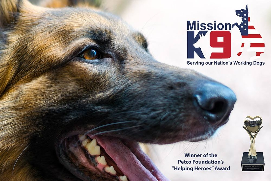 Kinetic Performance Dog Food Partners With Military and Working Dog Nonprofit Mission K9 Rescue