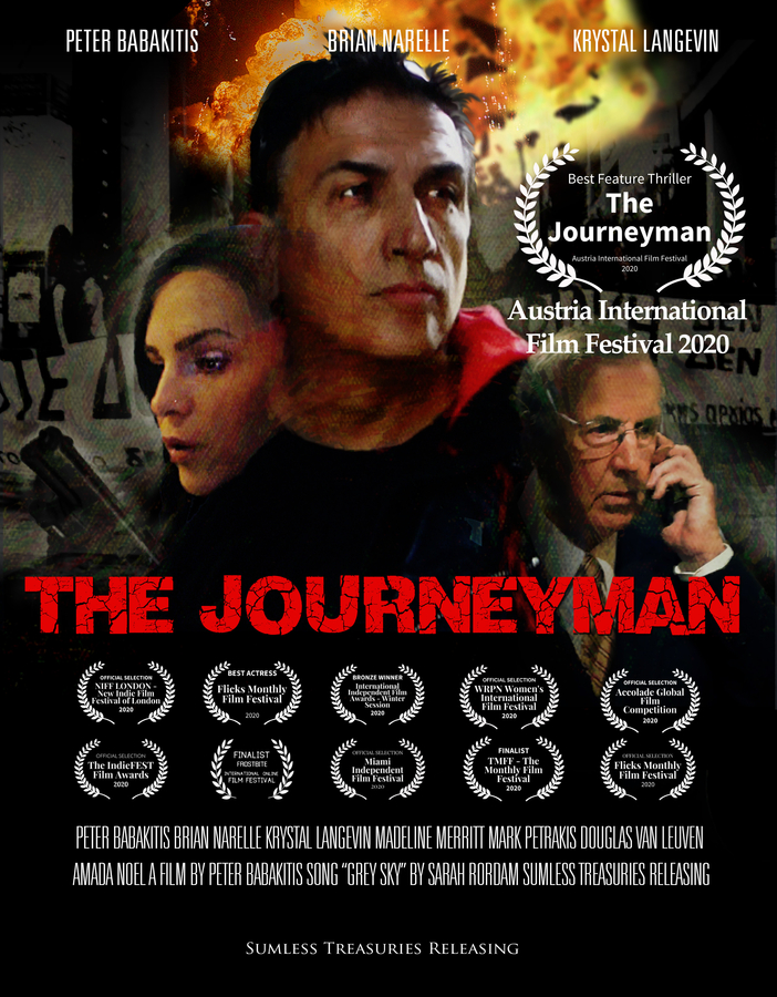 "Indie Thriller ""The Journeyman"" Racks Up Indie Awards for Premiere"