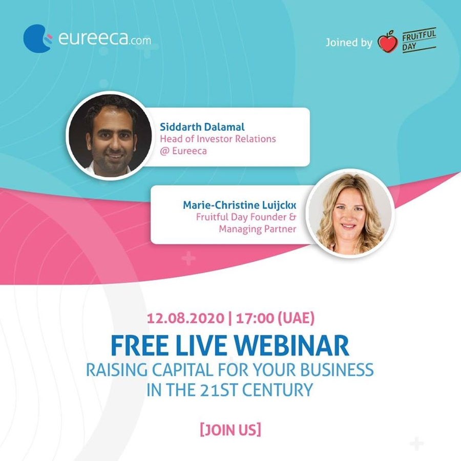 Eureeca, Online Equity Crowdfunding Platform, Invests in Client Education Through a Series of Webinars