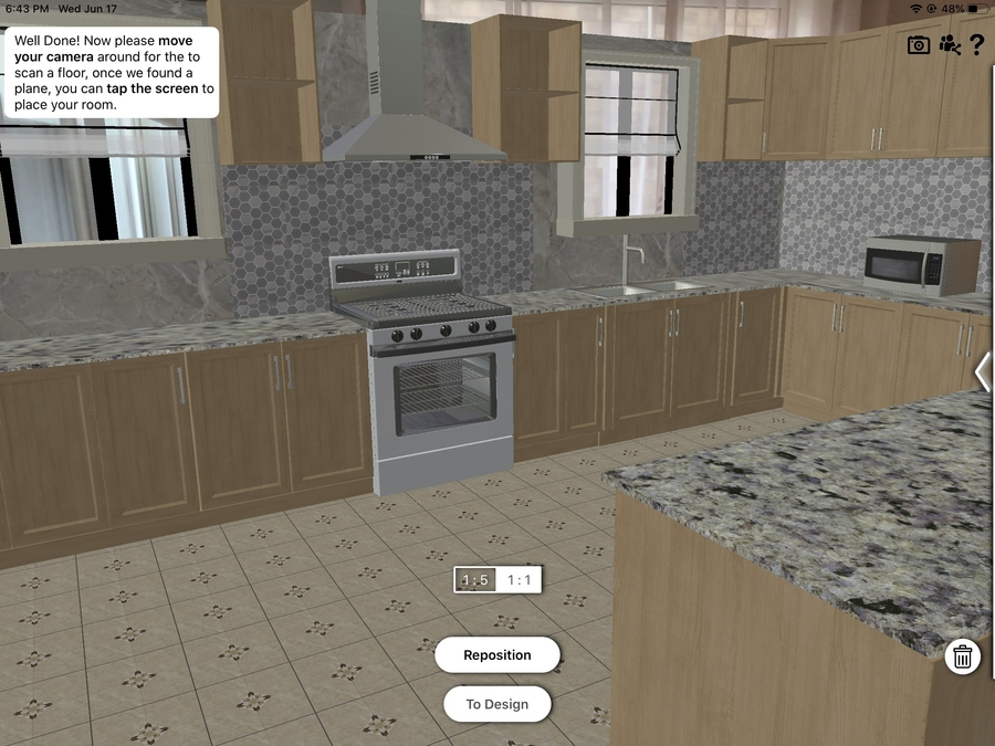 New Augmented Reality Kitchen Design App Released