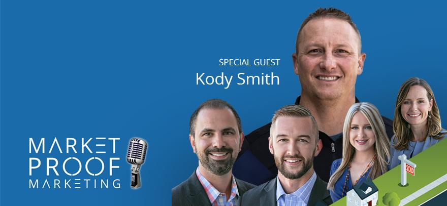 NoviHome President, Kody Smith, Discusses Registering Walk-In Traffic in 2020 on the Market Proof Marketing Podcast