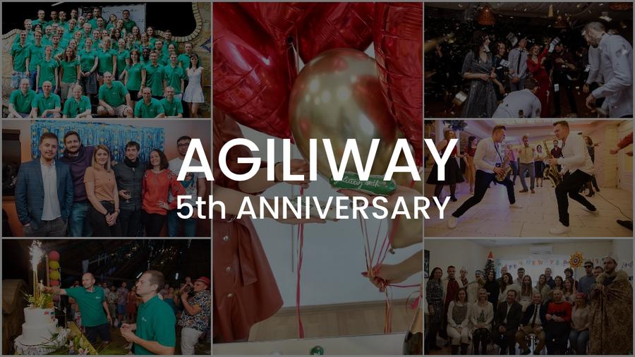 Custom Software Development Company Agiliway Marks Its Fifth Anniversary