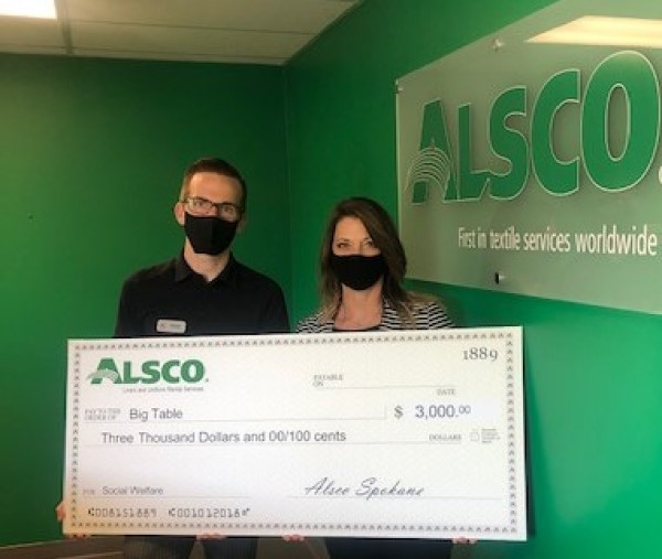 Alsco Supports Big Table in Helping Restaurant and Hospitality Workers