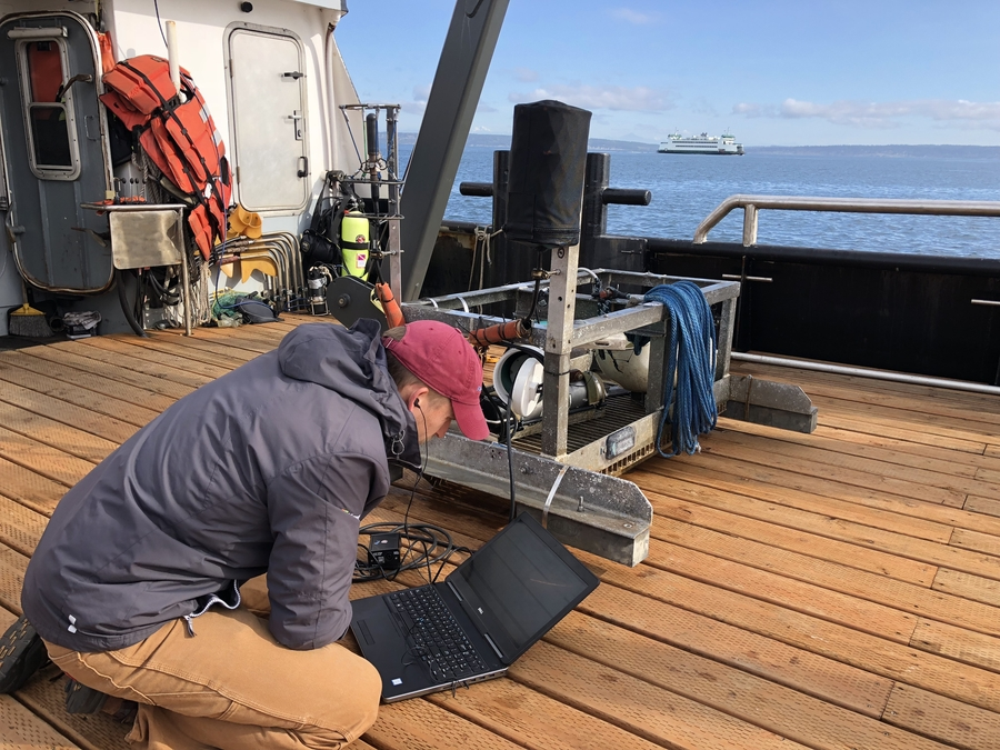 NCE Conducts Underwater Noise Assessment for WSF