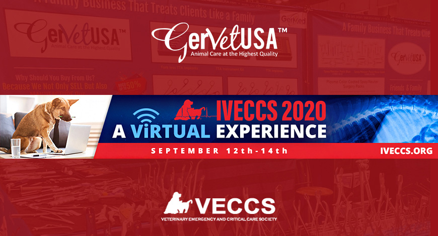 IVECCS 2020; A Virtual Veterinary Show leads to the Opportunity to Connect Widely with GerVetUSA Experts