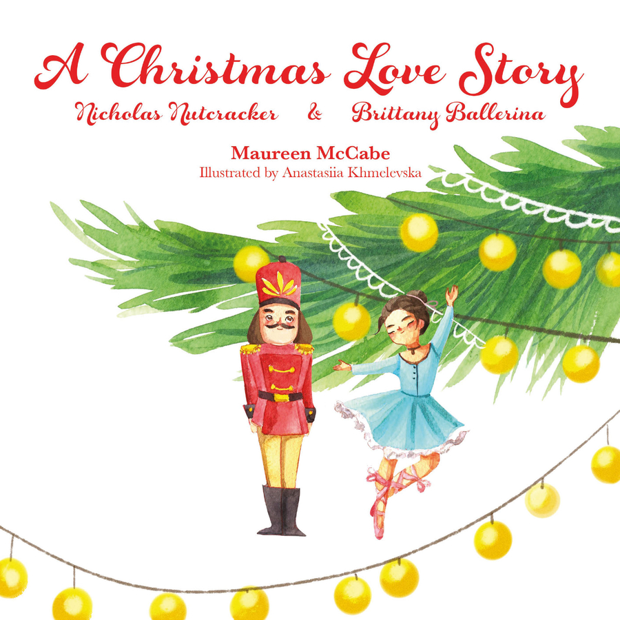 "New holiday book for kids, ""A Christmas Love Story: Nicholas Nutcracker & Brittany Ballerina,"" debuts at the Orange County Children's Book Festival (which is a free, virtual event in 2020)"