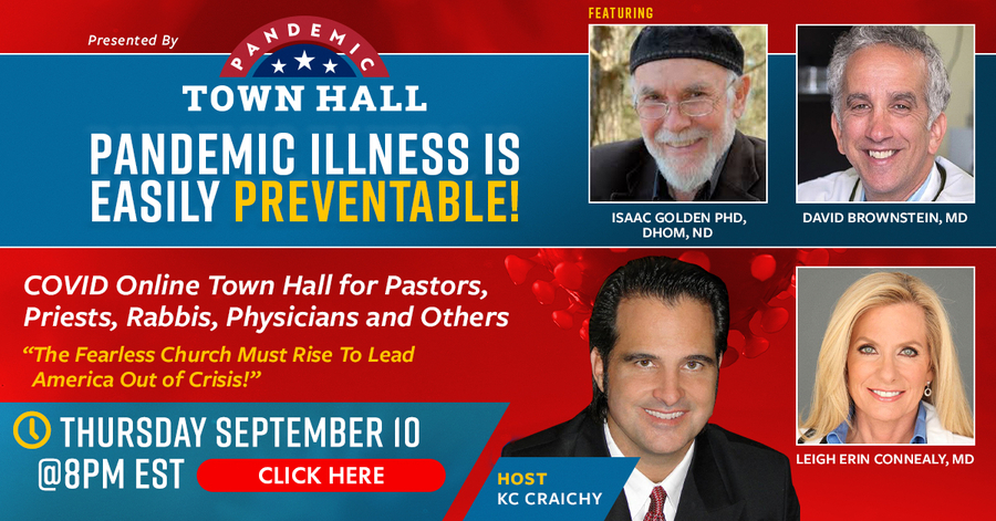 "KC Craichy Hosts COVID Pandemic Town Hall (Sponsored by ""United Medical Freedom Super PAC"")"
