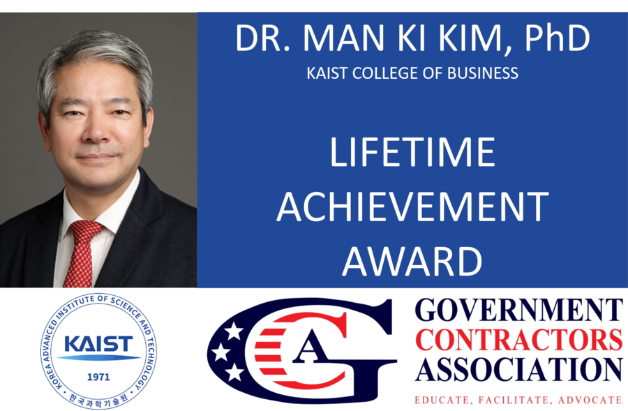Dr. Man Ki Kim Receives GCA 2020 Lifetime Achievement Award