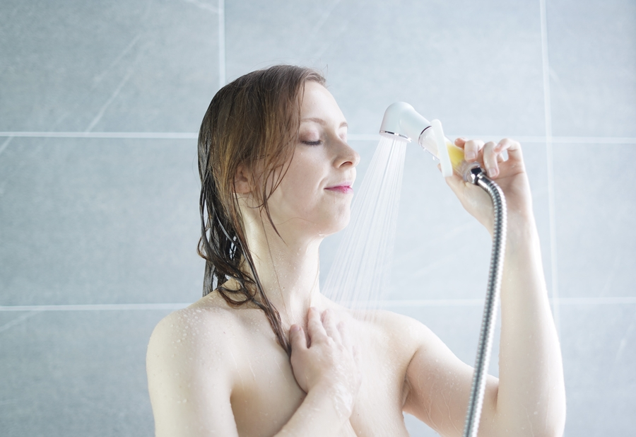 The World's First Vitamin-Sediment Combination Filter Shower Kit