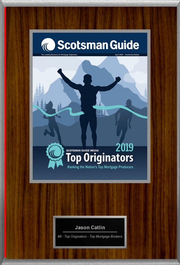 Scotsman Guide Ranks Catlin Capital, Inc.'s Jason Catlin as WASHINGTON STATE #1 MORTGAGE BROKER