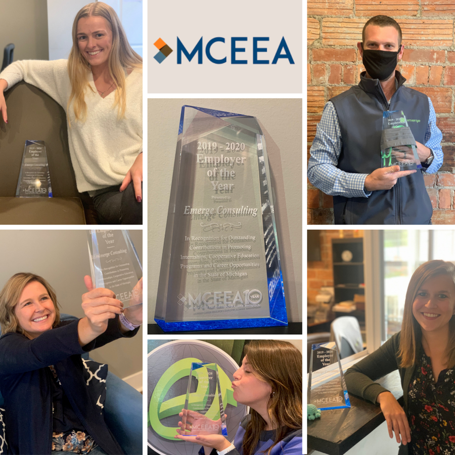 MCEEA Awards Emerge Consulting Employer of the Year
