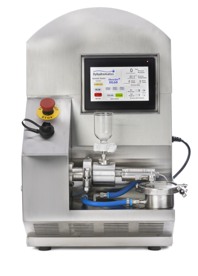 Dyhydromataics Announces Quiet, Small Footprint High Shear Fluids Laboratory Processor