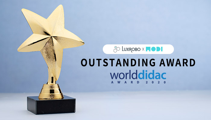 LUXROBO Wins Worlddidac