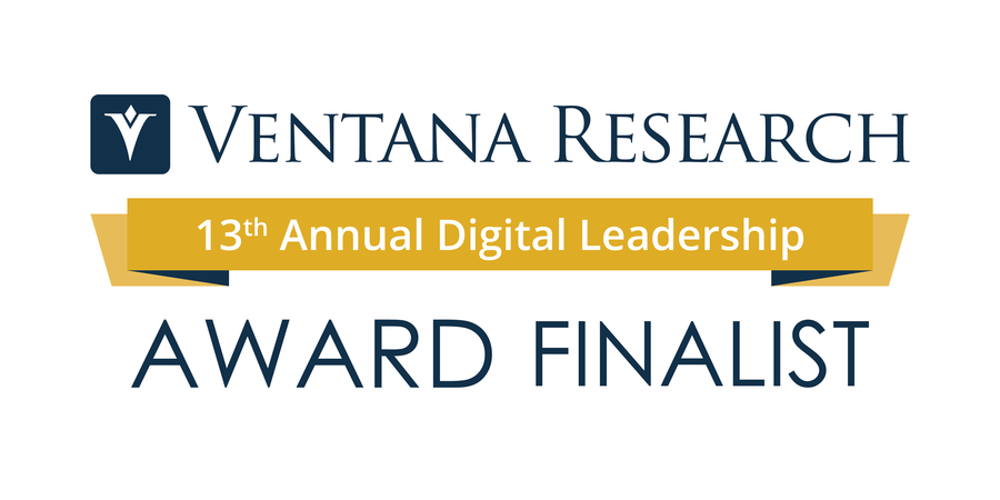 Ventana Research Announces the Finalists of the 13th Annual Digital Leadership Awards
