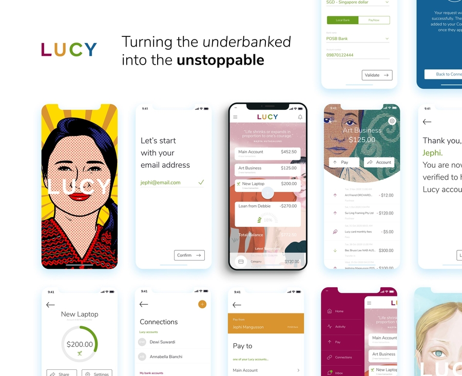 """Amid the Pandemic, """"Neo-bank"""" Lucy Secures USD370k in an all Women Funding Round, Bringing Total Raised to over USD750k"""