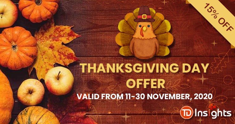 TDInsights Announces its Thanksgiving Promotion