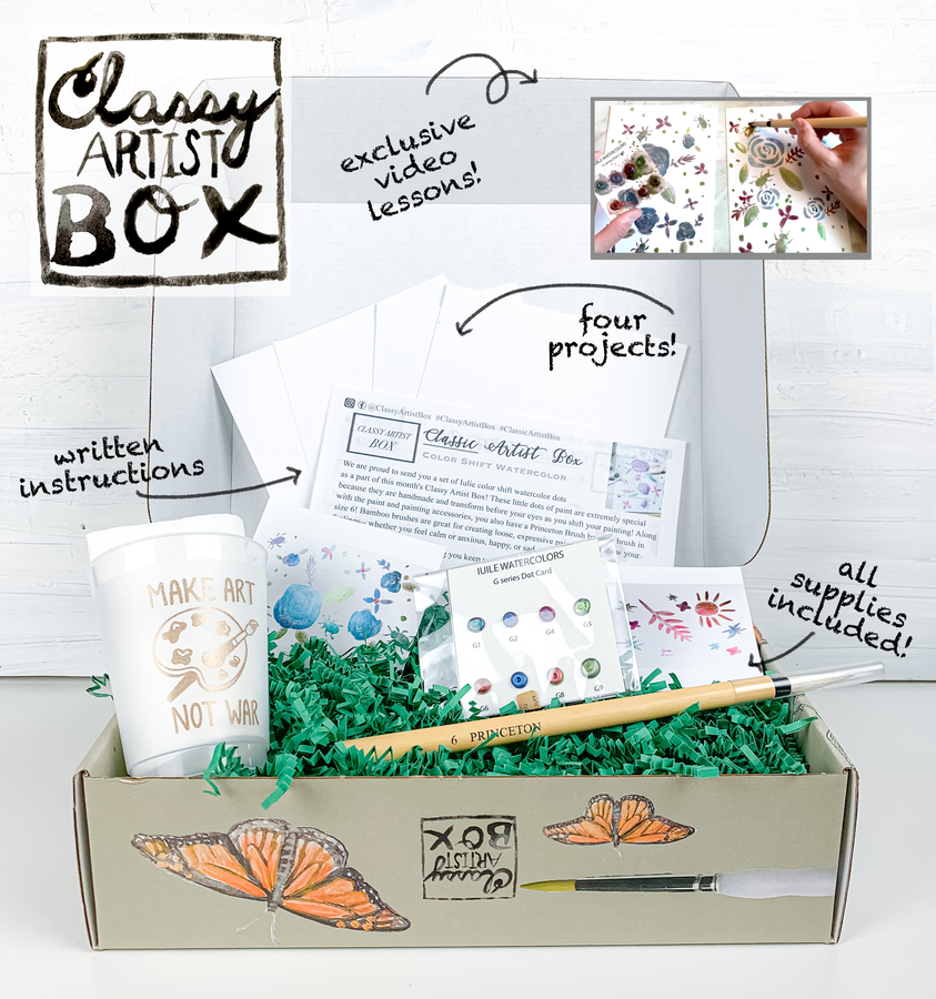 Classy Artist Box Announces Art Subscription Boxes for Kids and Adults Right to Your Door