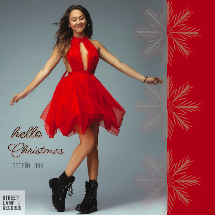"""Hello Christmas"" New Music Release from Isabelle Fries"