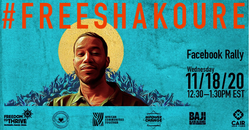 Coalition of Organizations Lead Online Rally for Pascal Shakoure Charpentier, a U.S. Citizen Who Had Been Held in ICE Detection Since July